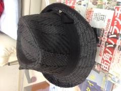 今日の帽子っ!