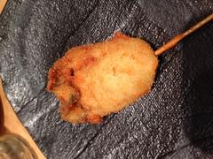 焼き鳥…と思ったら、牡蠣がおいしかった件!