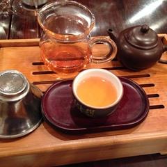 岩茶とお粥♪