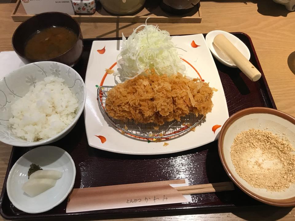 ランチでヒレカツ膳を食す!!「かわみ」 - 六甲道ポータル