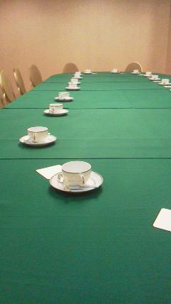 社員総会と理事会への立ち会い