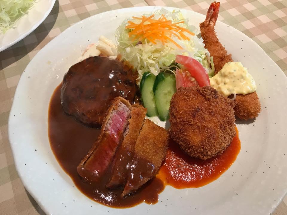 トンコパン「王子公園で洋食を食す!!」