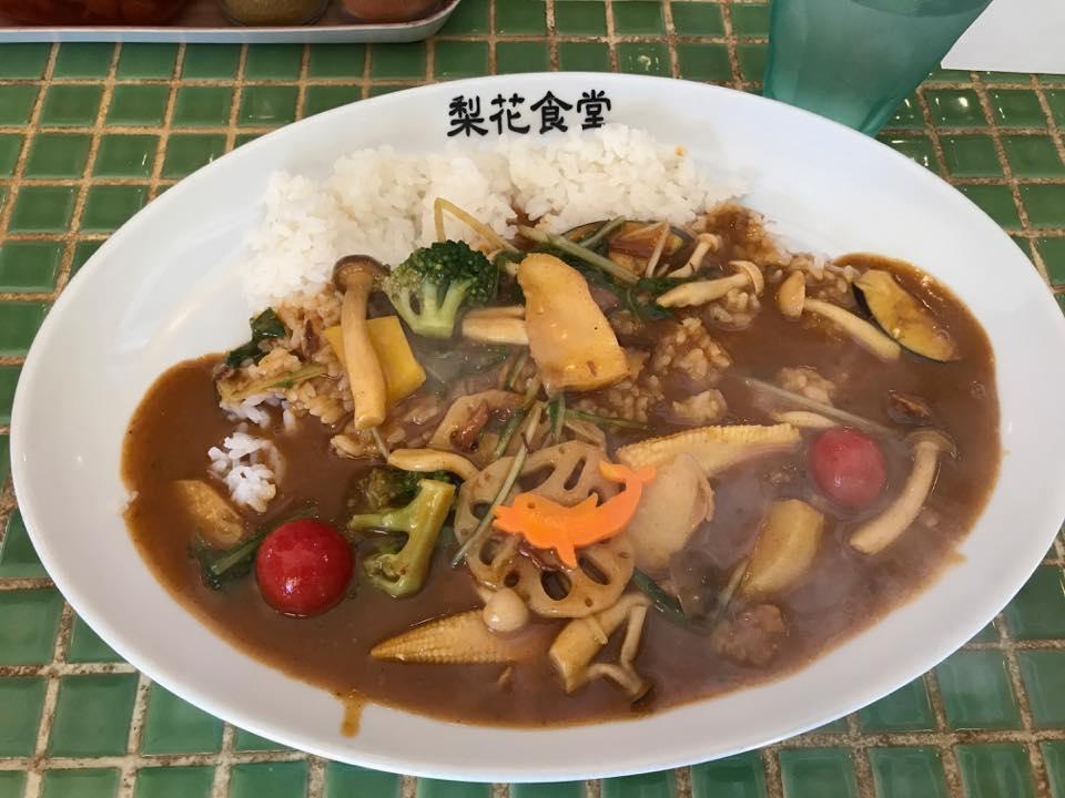 梨花食堂「大阪で美味しいカレーを食す!!」