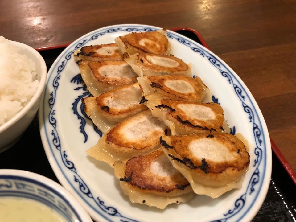 餃子屋 紅葉園「さんプラザで餃子定食を食す!!」