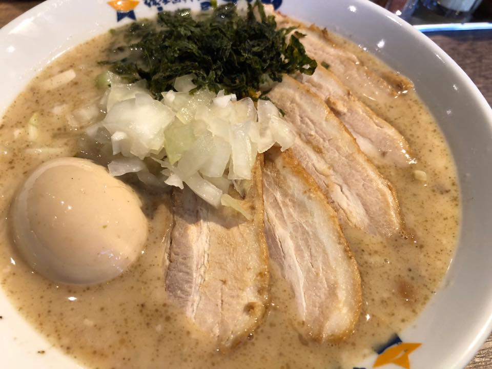 濃厚煮干しラーメン麺屋弐星「2018年1月5日ニューオープン!!」