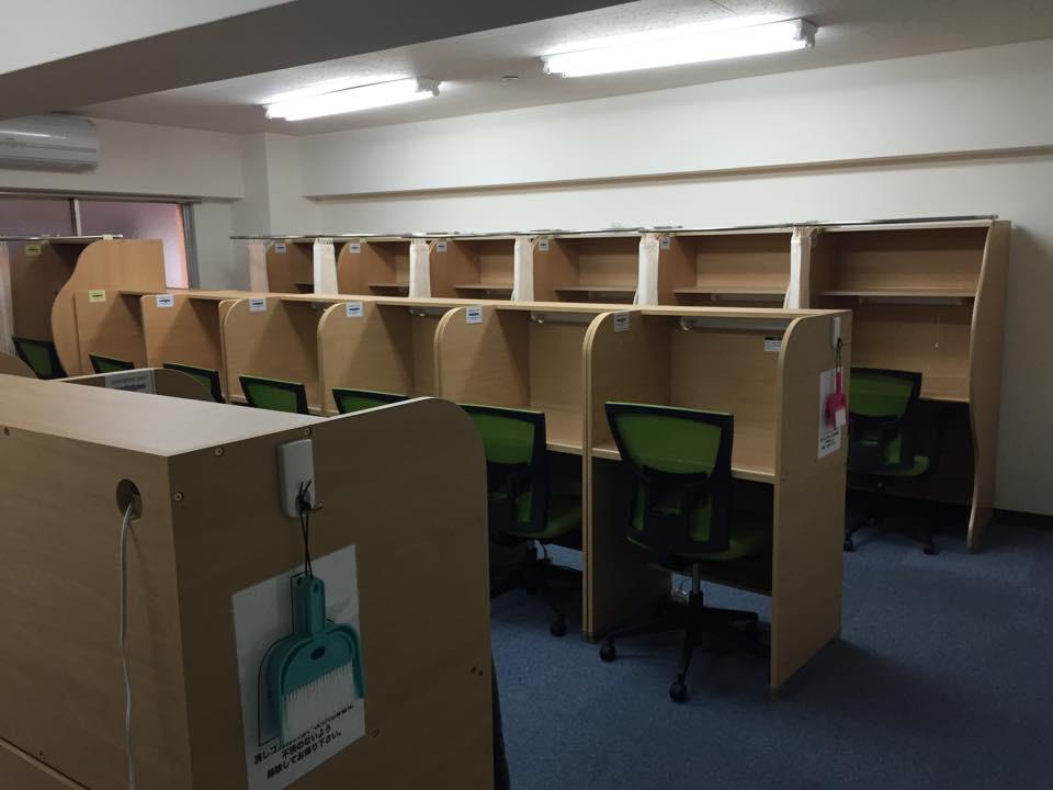 自習Station(六甲道店)「六甲道初の自習教室がオープンです!!」