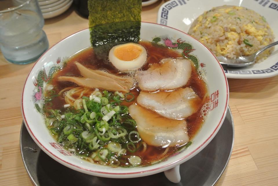 神戸拉麺 龍虎「2014年7月14日ニューオープン!!中華そば!!」