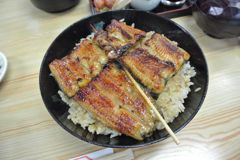山信「いつも美味しい鰻をありがとう!そしていつまでも!」