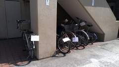 神戸市灘区 東灘区で自転車回収