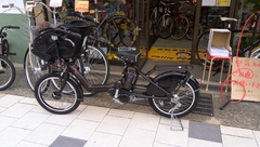 電動自転車 納車