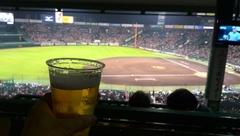 日米野球観戦