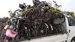 神戸市須磨区 東灘区 自転車回収