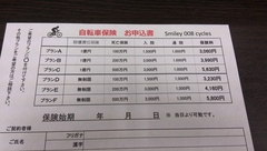 自転車保険加入を義務化