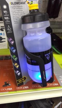 光るボトルケージ