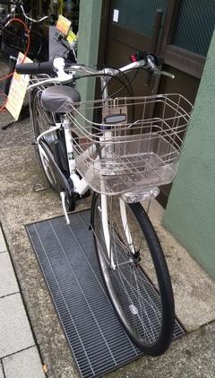 内装8段変速の電動自転車