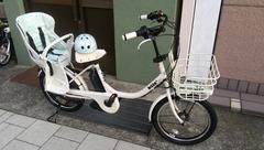 大人気な子供乗せ電動アシスト自転車