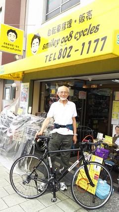 78才からロードデビュー☆
