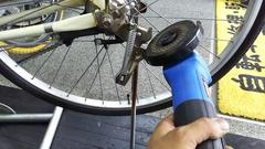 自転車のスタンド❗
