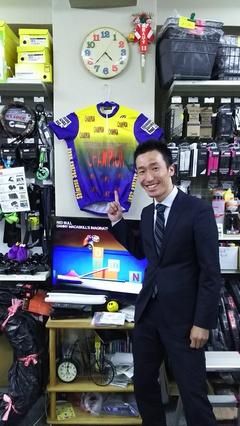 元プロロードレーサー シエルボ奈良 山下選手