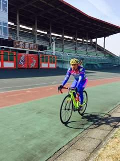 自転車普及の為に奈良競輪場へ