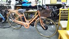 かわいい 電動アシスト自転車☆