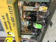 日本一周中に修理でご来店。